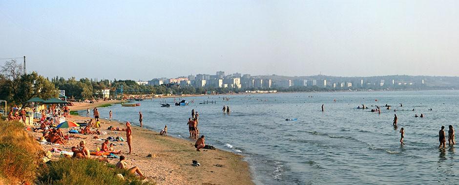 Курорт Мысовое и город Щелкино в Крыму, фото 1